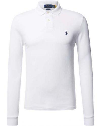 Biała t-shirt bawełniana Polo Ralph Lauren