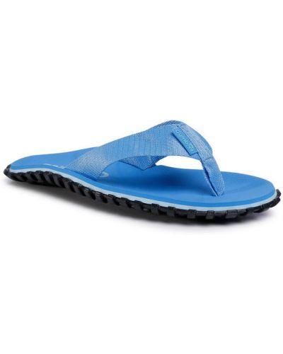 Niebieskie sandały japonki Gumbies