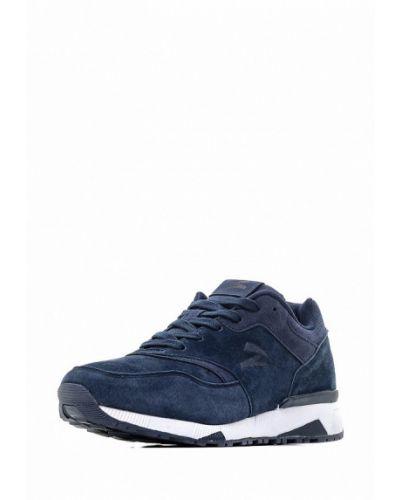 Синие кроссовки замшевые Sigma