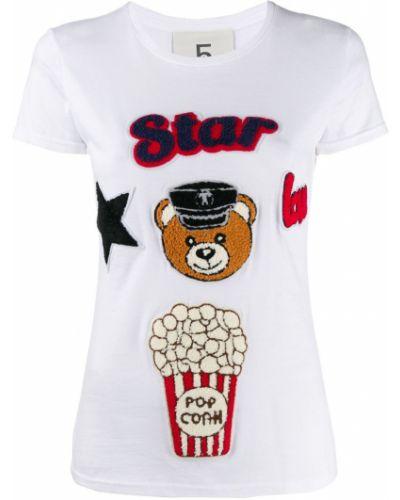 Рубашка с коротким рукавом с заплатками с лебяжьим пухом 5 Progress