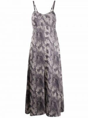 Платье с V-образным вырезом - белое Isabel Marant