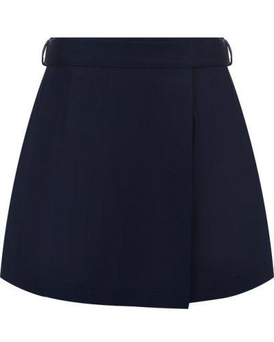 Короткие шорты с запахом с бантом Redvalentino