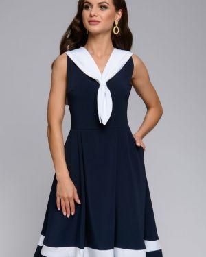 Летнее платье повседневное с V-образным вырезом 1001 Dress