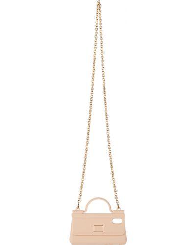 Różowa torebka Dolce And Gabbana