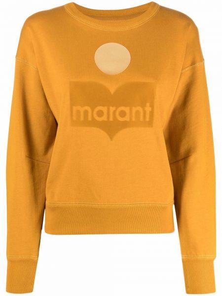 Желтая хлопковая кофта Isabel Marant Étoile