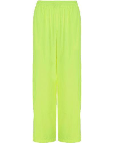 Żółte spodnie Balenciaga