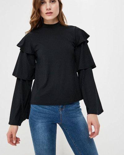 Черная блузка с длинным рукавом Lost Ink.