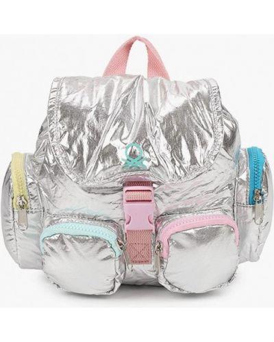 Серебряный нейлоновый рюкзак United Colors Of Benetton