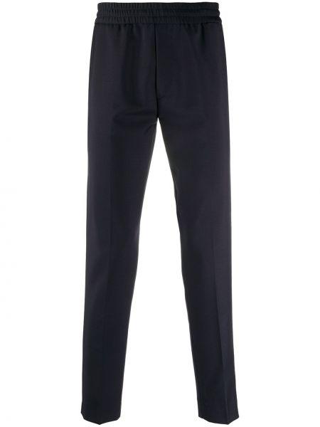 Niebieski spodni bawełna bawełna spodnie Acne Studios