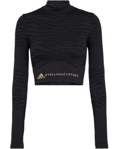 Кроп-топ - черный Adidas By Stella Mccartney