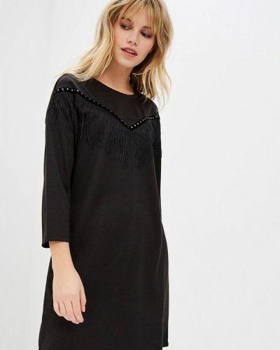 Платье - черное Nice & Chic