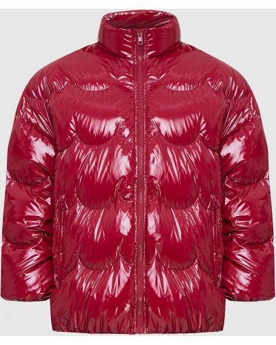 Красный пуховик Red Valentino