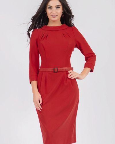Платье футляр - красное Grey Cat