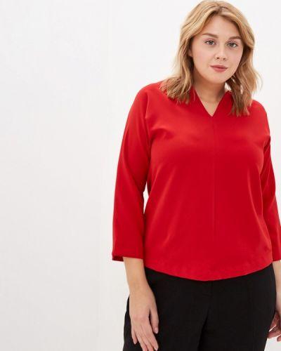 Блузка с длинным рукавом весенний красная Grafinia