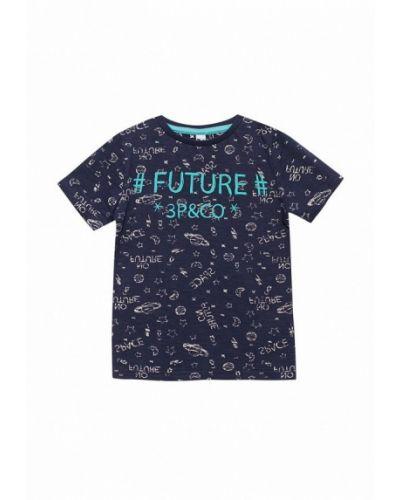 Синяя футболка 3 Pommes
