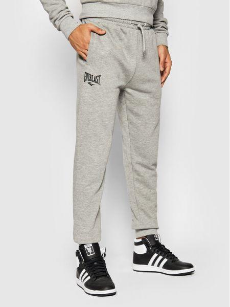 Szare spodnie dresowe Everlast