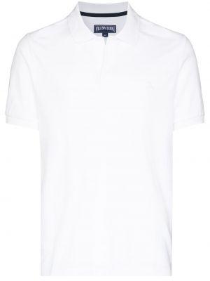 Biała koszulka bawełniana Vilebrequin