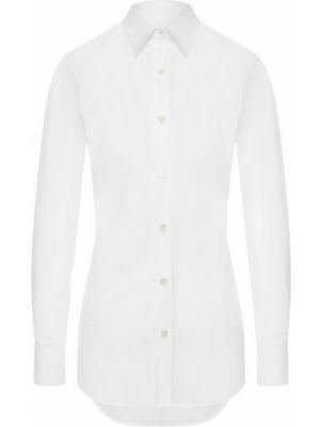 Хлопковая блузка - белая Paul&joe