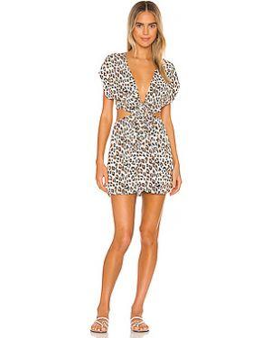 Платье мини купальное из вискозы Vix Swimwear