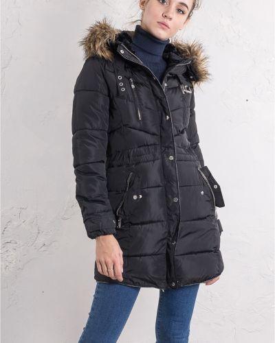 Куртка с капюшоном - черная Alcott