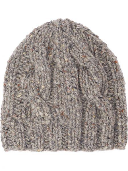 Wełniany czapka zimowa Prada