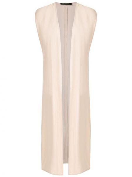 Прямая жилетка без рукавов из вискозы Andrea Marques