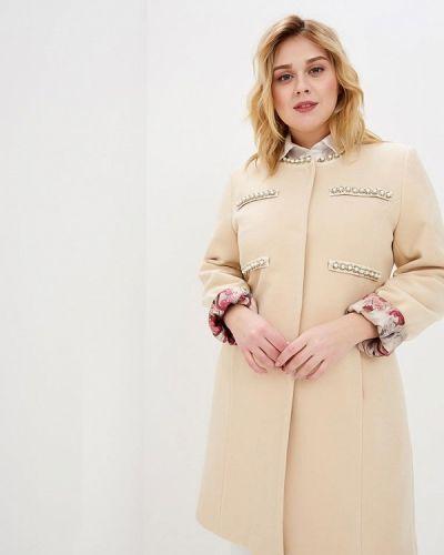 Пальто демисезонное бежевое Style National