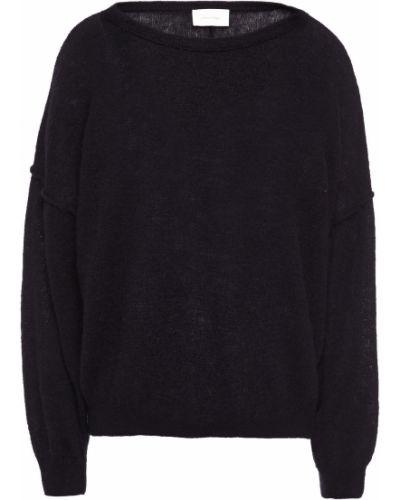 Sweter wełniany - czarny American Vintage