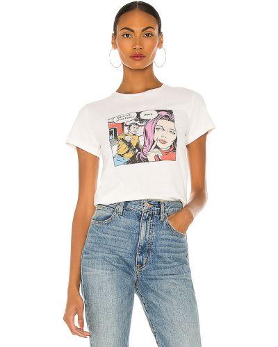 Bawełna bawełna biały klasyczny t-shirt Re/done