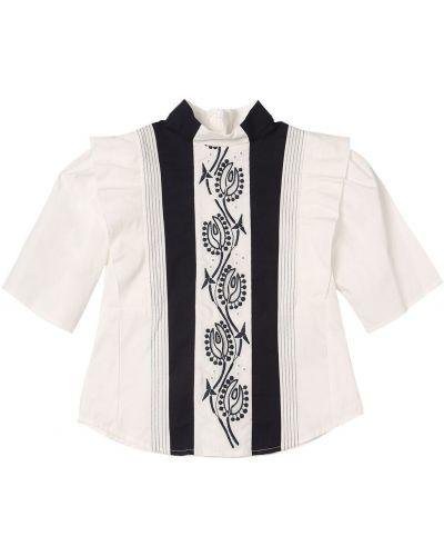 Рубашка с вышивкой Chloé