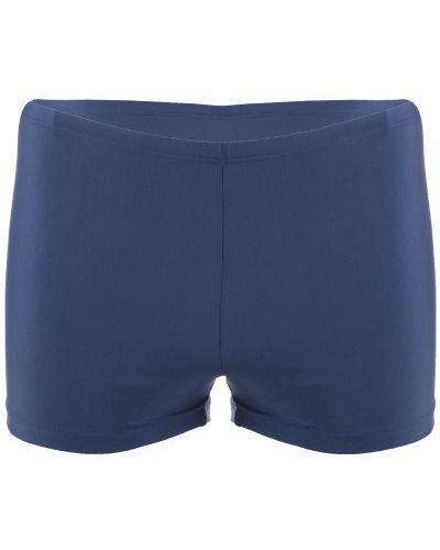 Плавки-боксеры синие для бассейна Joss