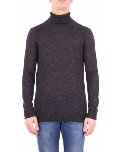 Prążkowany długi sweter z długimi rękawami Messagerie