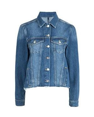 Джинсовая куртка весенняя синий Liu Jo