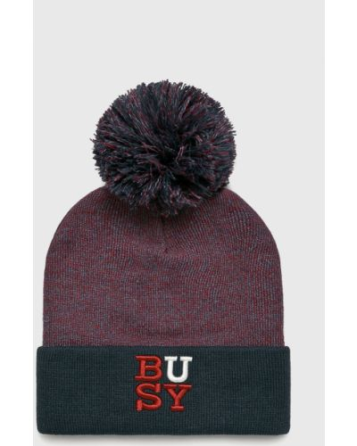 Зимняя шапка с отворотом с помпоном True Spin