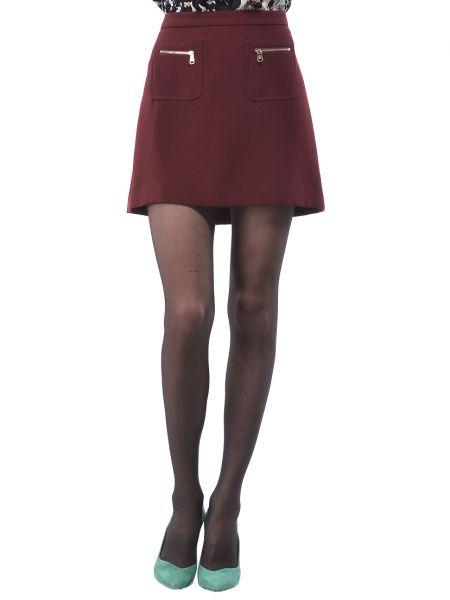Красная юбка из вискозы Marina Yachting