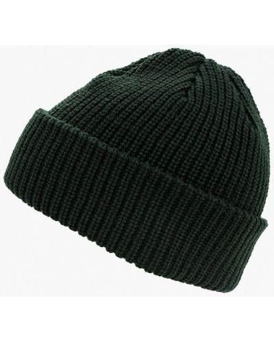 Зеленая шапка осенняя Dc Shoes