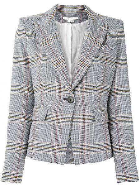 Приталенный черный пиджак на пуговицах с лацканами Veronica Beard
