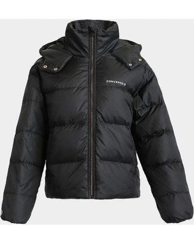 Куртка с капюшоном - черная Converse