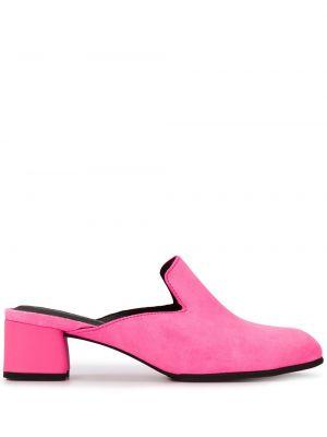 Мюли на каблуке розовый Camper