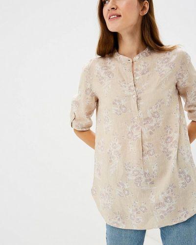 Блузка с длинным рукавом бежевый Iwie
