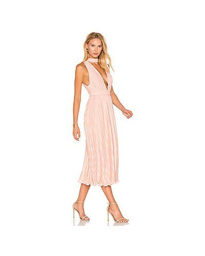 Платье с декольте с завышенной талией Nbd