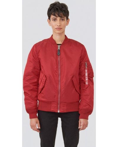 Красная куртка Alpha Industries