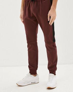 Спортивные брюки бордовый красный Dissident