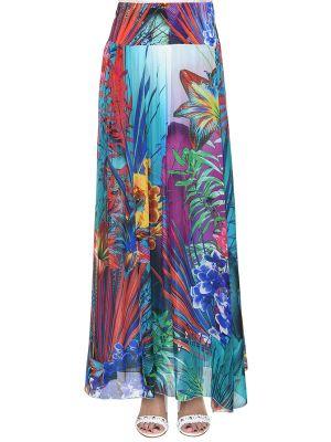 Шелковая юбка Anna Rachele