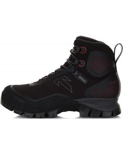 Ботинки трекинговые черные на шнуровке Tecnica