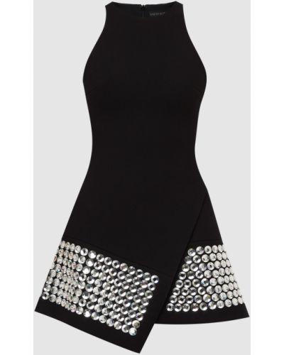Платье мини - черное David Koma