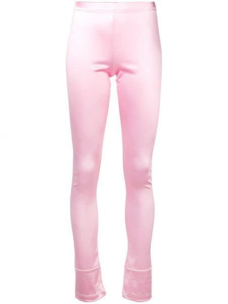 Нейлоновые розовые леггинсы с высокой посадкой Junya Watanabe