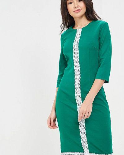 Платье весеннее зеленый Vittoria Vicci