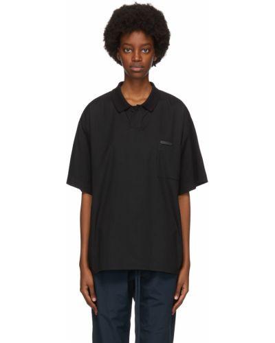 Koszulka krótki rękaw - czarna Fear Of God