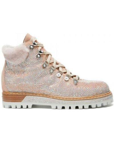 Ботинки розовые Le Silla